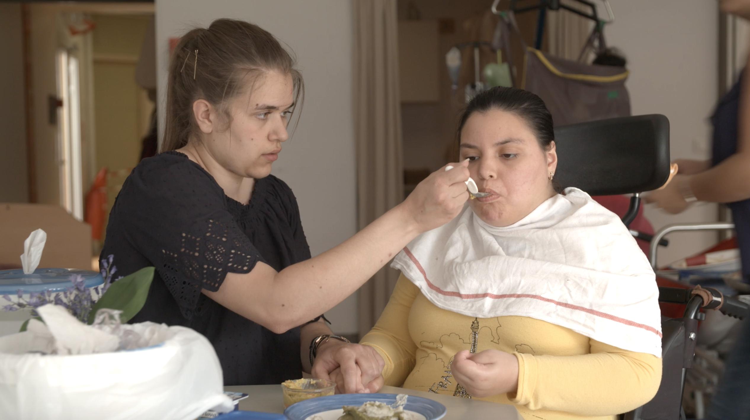 ajustement quotidien adaptation alimentation repas texture handicap