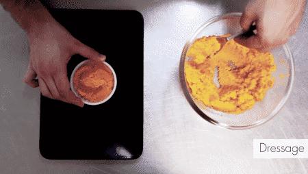 Recette adaptée de salade de carottes
