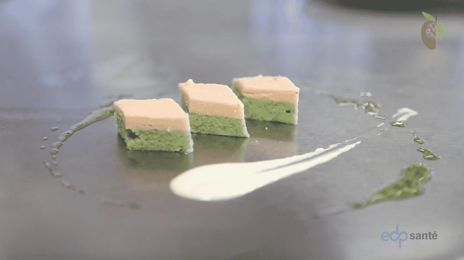 recette adaptee saumon fume concombre texture modifiee